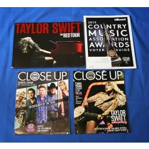 Taylor Swift - CMA promo with lot of 3 CMA Magazines