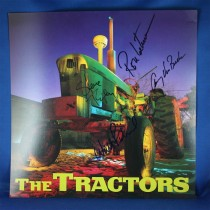 Tractors - autographed promo flat #1