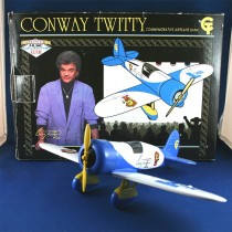 Conway Twitty - die cast vintage airplane