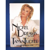 "Tanya Tucker - book ""Nickel Dreams My Life"""