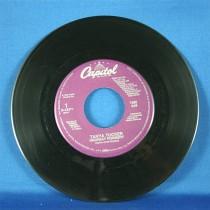 "Tanya Tucker - 45 LP ""Highway Robbery"" & ""Lonesome Town"""