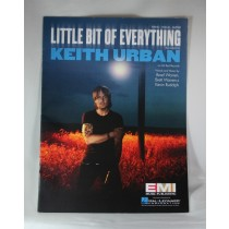 "Keith Urban - sheet music ""Little Bit of Everything"""