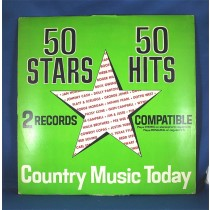 "Various Artists - LP ""50 Stars 50 Hits Country Music Today"""