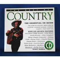 "Various Artists - book ""The Best Of Country The Essential CD Guide"" by Stacy Harris"