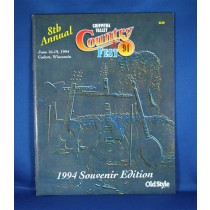 "Various Artists - program ""Chippewa Valley Country Fest - 1994"""