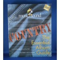 """Various Artists - book """"The Essential Album Guide: Country"""" with country music CD"""