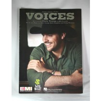 "Chris Young - sheet music ""Voices"""