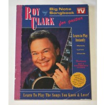 """Roy Clark – songbook """"Big Note Songbook For Guitar"""" As Seen On TV"""