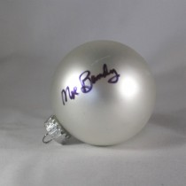 FFF Charities – Moe Bandy - white Christmas ornament #2