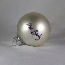 FFF Charities – Moe Bandy - white Christmas ornament #4