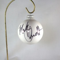 FFF Charities - Mark Chesnutt - 2017 White Christmas Ornament #1