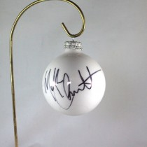 FFF Charities - Mark Chesnutt - 2017 White Christmas Ornament #3